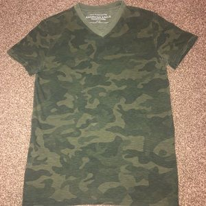 Men's Camo American Eagle Shirt